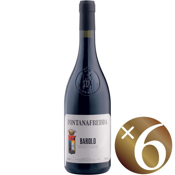 バローロ/フォンタナフレッダ 750ml×6本 (赤ワイン)