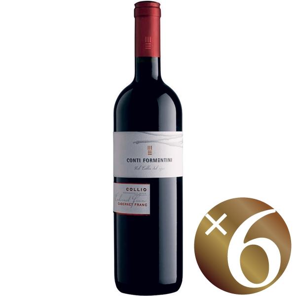 カベルネ・フラン・コッリオ/コンティ・フォルメンティーニ 750ml×6本 (赤ワイン)