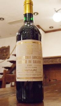 シャトー ピション ロングヴィル コンテス ド ラランド[1989]Chateau pichon longueville contesse de lalandeラベル汚れ有り