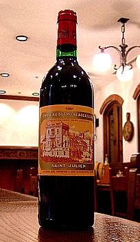 シャトー・デュクリュ・ボーカイユ[1981]Chateau Ducru-Beaucaillou