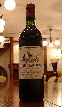 シャトー ベイシュヴル[1982]Chateau Beychevelle