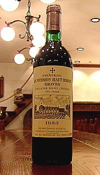 シャトー ラ ミッション オーブリオン[1983]Chateau La Mission -Haut-Brion
