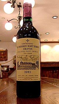 シャトー ラ ミッション オーブリオン[1982]Chateau La Mission -Haut-Brion本数限定