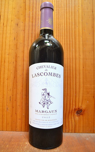 富安 de lassombs [2012] 和 AOC 瑪 (梅鐸克特級和第 2 個標籤城堡 lassombs Classe,評級等級 2) 富安 de Lascombes [2012] AOC 瑪 (城堡 Lascombes 第 2)