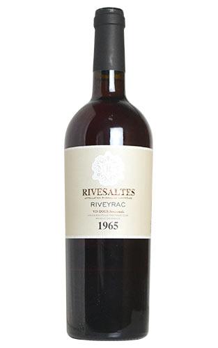 リヴザルト 1965 リヴェイラック 赤ワイン 甘口 フルボディ 750mlRIVESALTES [1965] RIVEYRAC AOC RIVESALTES
