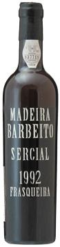 マディラ・ヴィニョス・バーベイト・セルシアル[1992]年・(平成4年)Madeira Vinhos Barbeito Sersial [1992]