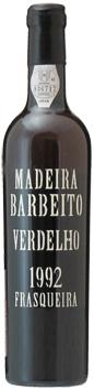 マディラ・ヴィニョス・バーベイト・ヴェルデーリョ[1992]年・(平成4年)・500mlMadeira Vinhos Barbeito Verdelho [1992] 500ml