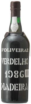 マディラ・ペレイラ・ドリヴェイラ・ヴェルデーリョ[1986]年・(昭和61年)Madeira Pereira D'Oliveira Verdelho [1986]