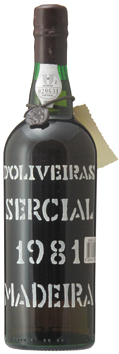 マディラ・ペレイラ・ドリヴェイラ・セルシアル[1981]年・(昭和56年)Madeira Pereira D'Oliveira Sercial [1981]
