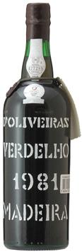 マディラ・ペレイラ・ドリヴェイラ・ヴェルデーリョ[1981]年・(昭和56年)Madeira Pereira D'Oliveira Verdelho [1981]
