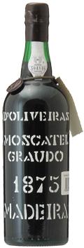マディラ・ペレイラ・ドリヴェイラ・モスカテル[1875]年・(明治8年)Madeira Pereira D'Oliveira Moscatel [1875]