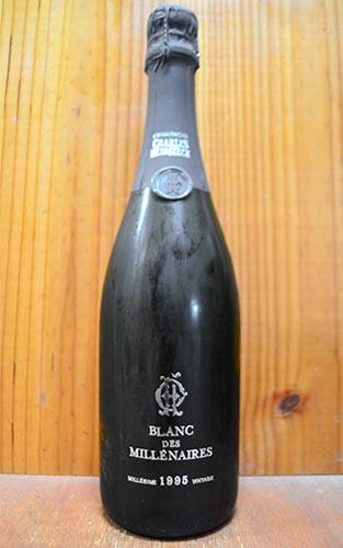 シャルル エドシック シャンパーニュ ブラン デ ミレネール ミレジム 2004 ブラン ド ブラン 正規 泡 白 シャンパン ワイン 辛口 750ml (シャルル・エドシック)Charles Heidsieck Champagne Blanc des Millenaires Millesime [2004] Blanc de Blancs