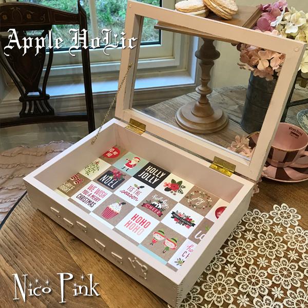 アクセサリー ボックス【Nico Pink・ニコ ピンク】 インテリア 雑貨 収納 ケース