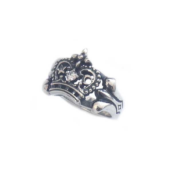 レディース ウィメンズ 女性 アクセサリー シルバー プレゼント ギフト フォーマル リング 指輪 ムーンスタークラウンリング狼 ウルフマン ウルフマンbrs