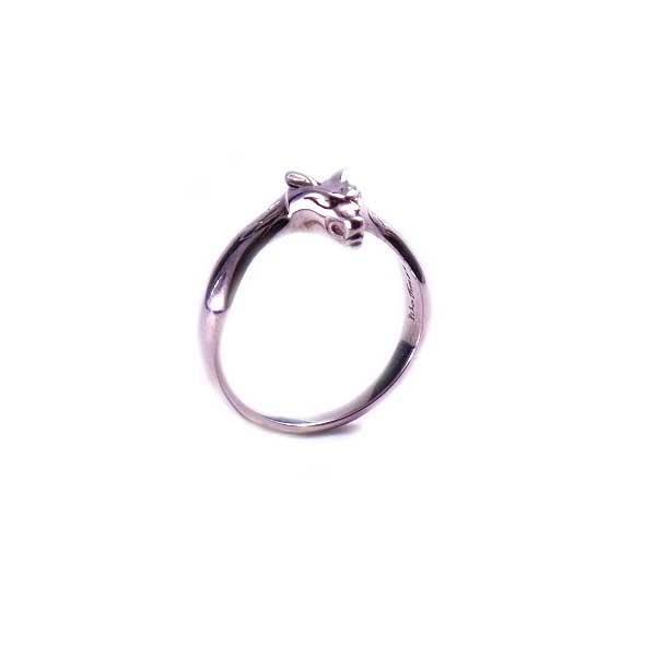 レディース ウィメンズ 女性 アクセサリー シルバー プレゼント ギフト フォーマル リング 指輪 レディース・ユニセックスウォーウルフベビーリングPSV メンズ狼 ウルフマン ウルフマンbrs