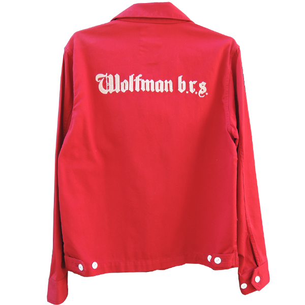 シルバー925 シルバー ジャケット レッド 狼 ウルフマン ウルフマンbrs
