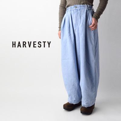 HARVESTY (ハーベスティ) DENIM CIRCUS PANTS デニムサーカスパンツ A11801