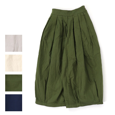 HARVESTY (ハーベスティ)CIRCUS CULOTTES DOUBLE CLOTH 二重織りサーカスキュロット A22003
