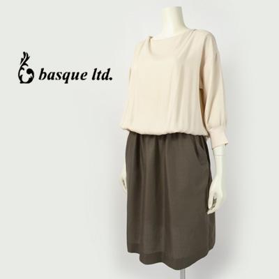 blanc basque (ブランバスク) 切り替えワンピース  BB62-407:ウーマンリミックス