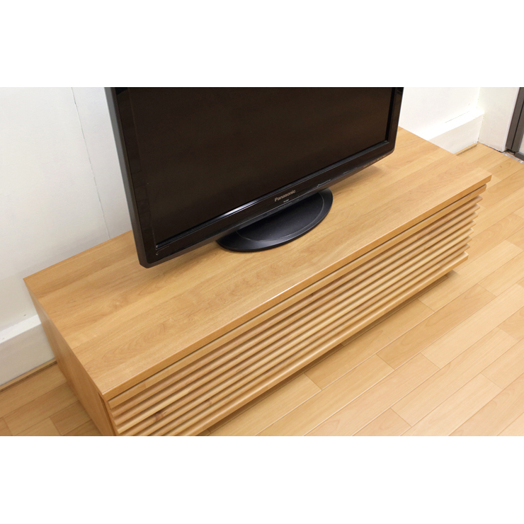 Tv Stand Sideboard Lowboard Completed Wooden Anese Style Modern Width 120 Cm Low Type