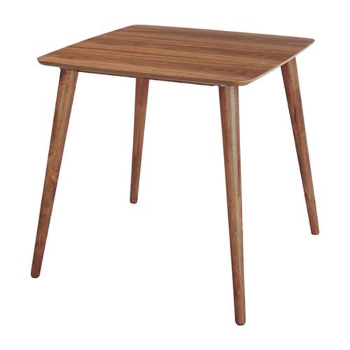 ダイニングテーブル 幅75cm ブラウン 木製 カフェテーブル 食堂テーブル 食卓テーブル てーぶる 二人用ダイニングテーブル 2人用ダイニングテーブル 2人掛けダイニングテーブル