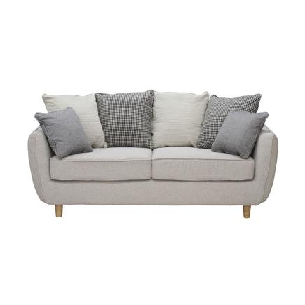 2人掛けソファー 布張り製 モダン風 2人用ソファー 二人掛けソファー 二人用ソファー ラブソファー そふぁー ダブルソファー コンパクトソファー