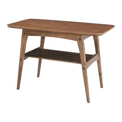 センターテーブル 幅75cm ブラウン 木製