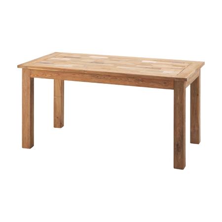 ダイニングテーブル 幅150cm ナチュラル 木製 4人用ダイニングテーブル 四人用ダイニングテーブル 4人掛けダイニングテーブル 食堂テーブル 食卓テーブル カフェテーブル
