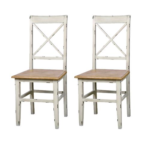 ダイニングチェアー 2脚セット 木製  アンティークデザイン 食堂椅子 食堂チェアー 食卓チェアー 食卓椅子 カウンターチェアー いす イス カフェチェアー