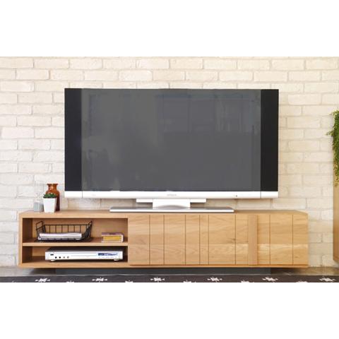 テレビ台 ロータイプ 完成品 幅160cm ナチュラル 木製 北欧風 ロータイプテレビボード TVボード てれび台 TV台 テレビラック リビングボード AVラック AV収納 AVボード