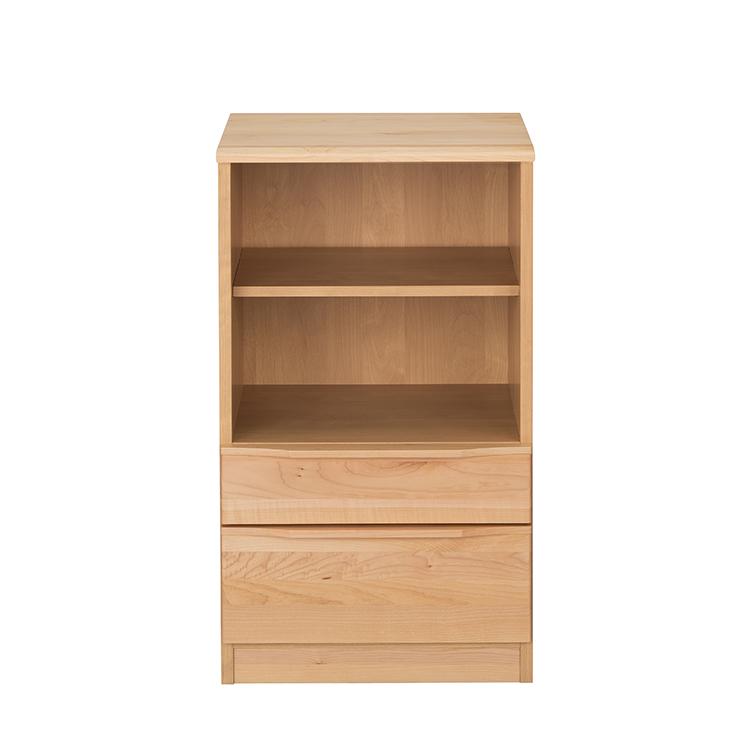 キャビネット 完成品 幅50cm 木製 メープル 北欧風 ナチュラル 食器棚 堀田木工所