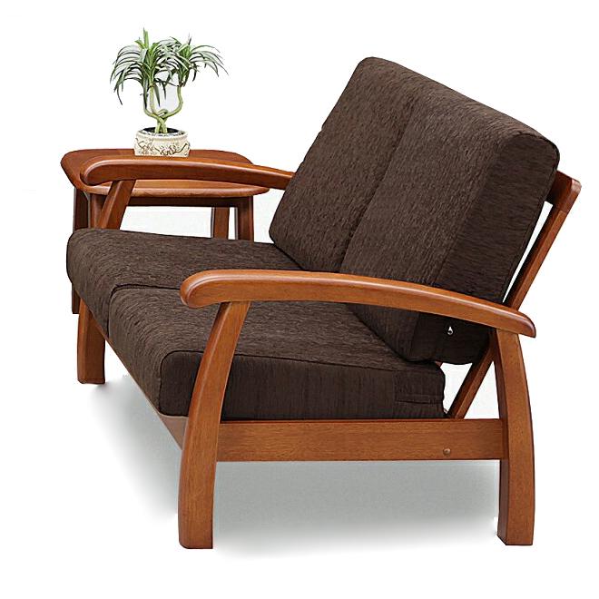 2人掛けソファー 肘付き ライトブラウン 布張り製 北欧風 2人用ソファー 二人掛けソファー 二人用ソファー ラブソファー そふぁー ダブルソファー コンパクトソファー