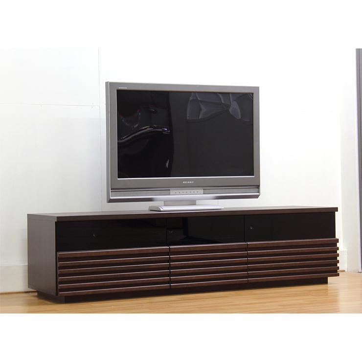 テレビ台 テレビボード ローボード 完成品 幅165cm 木製 北欧風 ブラウン 国産品 日本製 ロータイプテレビボード TVボード てれび台 TV台 テレビラック リビングボード AVラック AV収納 AVボード