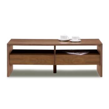 センターテーブル ローテーブル リビングテーブル コーヒーテーブル てーぶる 幅120cm ブラウン 木製 北欧風