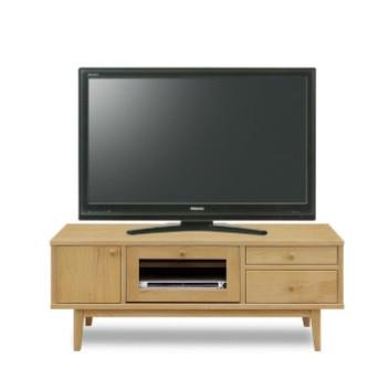 テレビ台 テレビボード ローボード 完成品 幅120cm ナチュラル 木製 北欧風 ロータイプテレビボード TVボード てれび台 TV台 リビングボード AV収納 テレビラック
