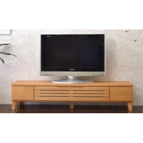 テレビ台 テレビボード ローボード 完成品 幅160cm ナチュラル 木製 北欧風 ロータイプテレビボード TVボード てれび台 TV台 リビングボード AV収納 テレビラック
