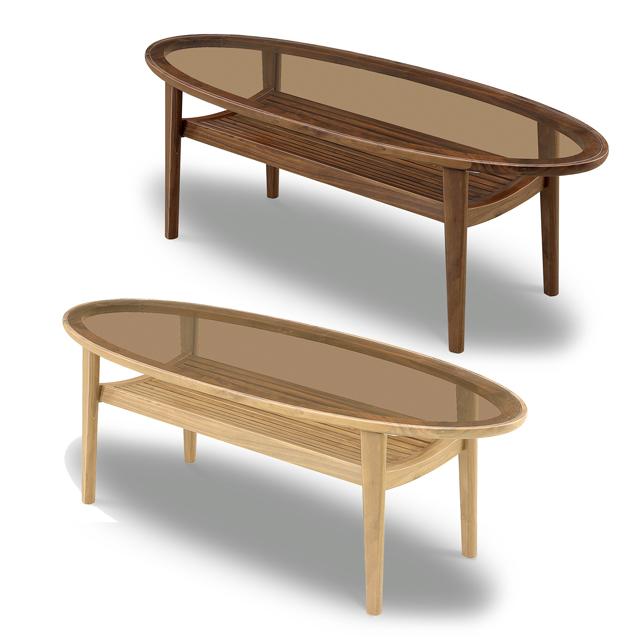 センターテーブル 幅120cm ナチュラル ブラウン ガラス製 北欧風 ローテーブル リビングテーブル コーヒーテーブル りびんぐてーぶる カフェテーブル