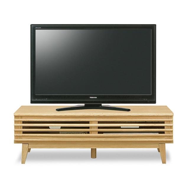 テレビ台 ローボード 完成品 幅120cm ナチュラル 木製 北欧風 ロータイプテレビボード TVボード てれび台 TV台 テレビラック リビングボード AVラック AV収納 AVボード
