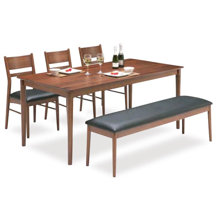 ダイニングテーブルセット ダイニングセット 5点セット 6人掛け 6人用 食堂セット 食卓テーブルセット ダイニング5点セット カフェテーブルセット 六人掛け 六人用 木製 北欧風 ブラウン