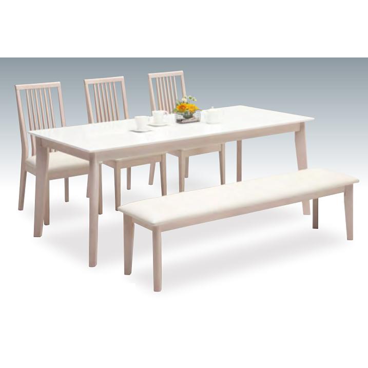 ダイニングテーブルセット ダイニングセット 5点セット 6人掛け 6人用 食堂セット 食卓テーブルセット ダイニング5点セット・カフェテーブルセット 六人掛け 六人用 木製 北欧モダン風