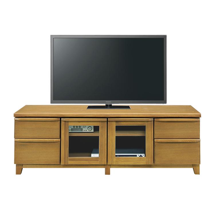テレビ台 テレビボード ローボード 完成品 幅150cm ナチュラル 木製 北欧風 ロータイプテレビボード TVボード てれび台 TV台 リビングボード AV収納 テレビラック AVボード