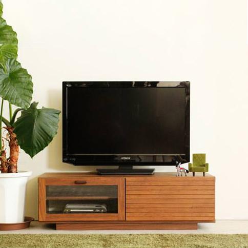 テレビ台 ローボード 完成品 幅100cm ブラウン 木製 北欧風 ロータイプテレビボード TVボード てれび台 TV台 テレビラック リビングボード AVラック AV収納 AVボード