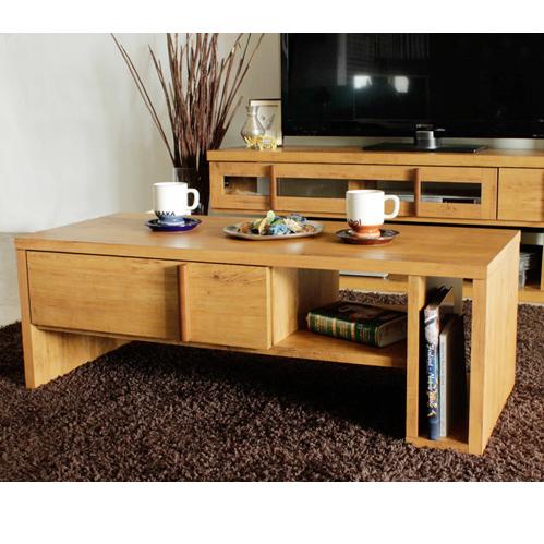 センターテーブル 幅105cm 木製 北欧風 ローテーブル リビングテーブル コーヒーテーブル りびんぐてーぶる カフェテーブル