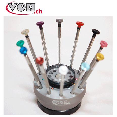【腕時計王Vol.55 商品】 VOH 【ブイオーエイチ】 時計技術者用ドライバー 12本セット 2個【VO3000788】【VO3000788-2】