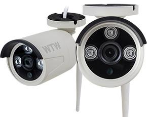 【WTW-BD253L専用モデル】無線防犯カメラ ネットワーク対応 長距離100m 赤外線 夜間 屋外 スマホ視聴 Wi-Fi LAN接続 カンタン設置【WTW-BDR33HEW】