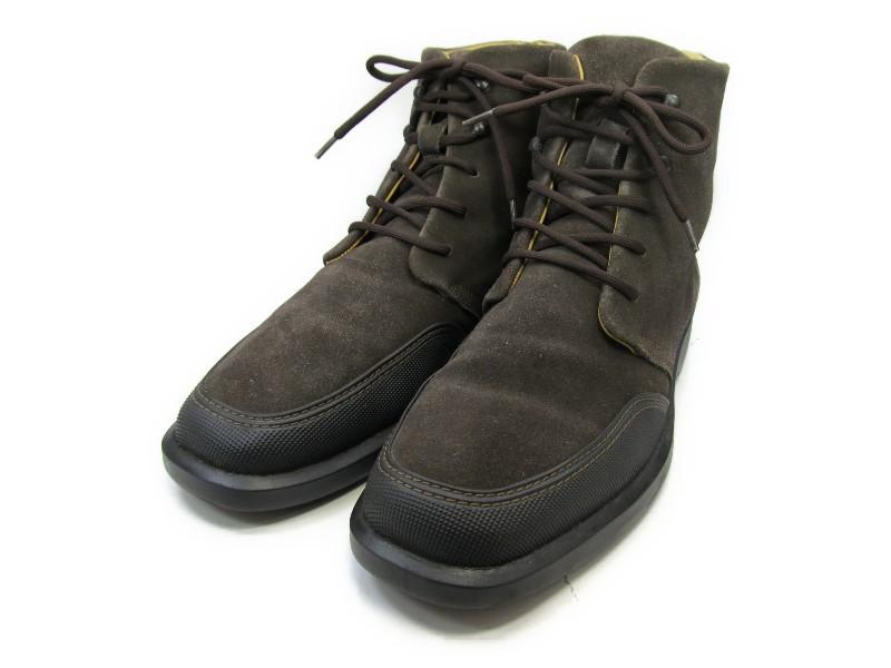 【中古】【送料無料】UARUK (ヴァルク)8 / (26.0cm~26.5cm) イタリア製・ショートブーツメンズシューズ 紳士 靴 ビジネス カジュアル メンテナンス済