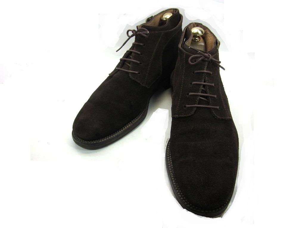 【中古】【送料無料】BENTLEY (ベントレー)43 / (27.5cm~28.0cm) ショートブーツメンズシューズ 紳士 靴 ビジネス カジュアル メンテナンス済