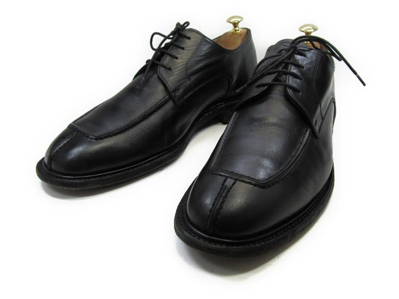 【中古】【送料無料】VAN BOMMEL (ヴァンボメル)9.5 H / (27.5cm~28.0cm) Yチップメンズシューズ 紳士 靴 ビジネス カジュアル メンテナンス済