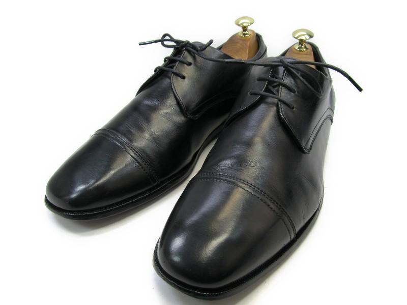 【中古】【送料無料】Tasso Elba (タッソエルバ)9.5 D / (25.5cm~26.0cm) ストレートチップメンズシューズ 紳士 靴 ビジネス カジュアル メンテナンス済