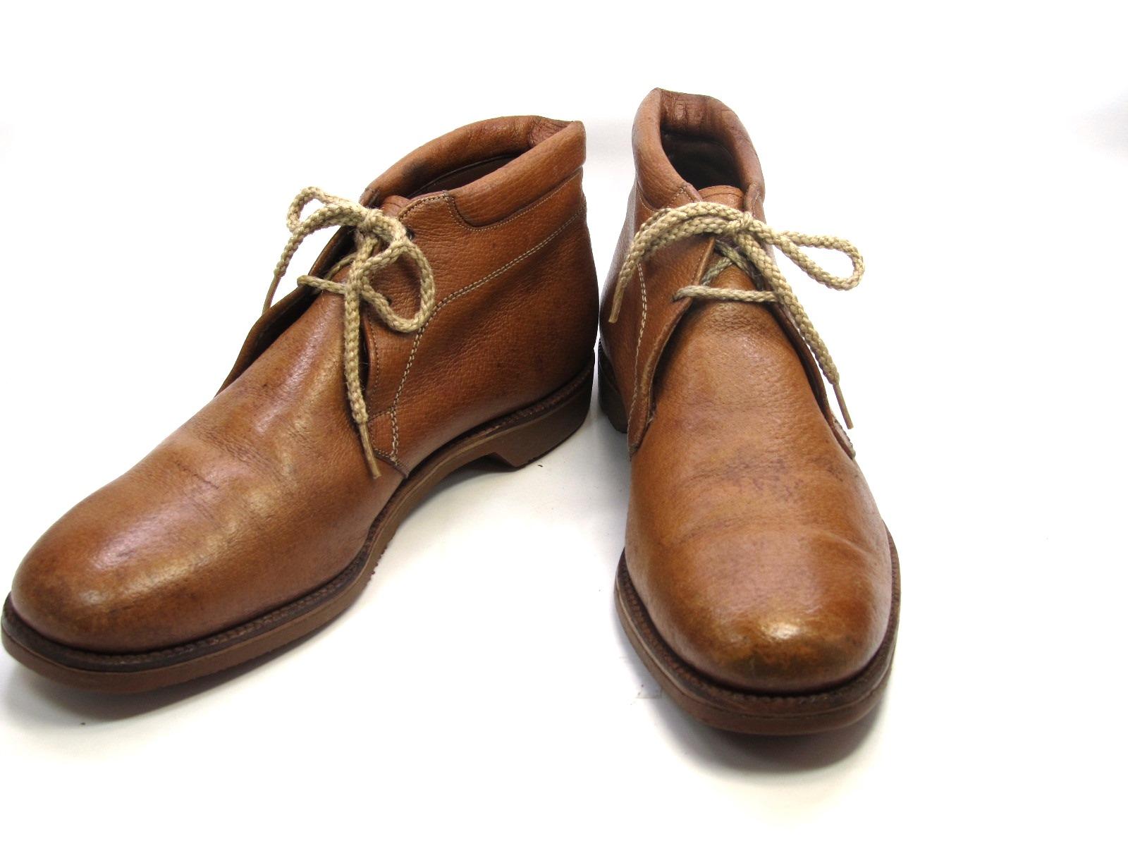 中古 送料無料 Allen Edmonds アレン エドモンズ 9.5 C 人気ショップが最安値挑戦 割引 アメリカ製 紳士 カジュアル 靴 28.0cm~28.5cm チャッカブーツメンズシューズ ビジネス メンテナンス済